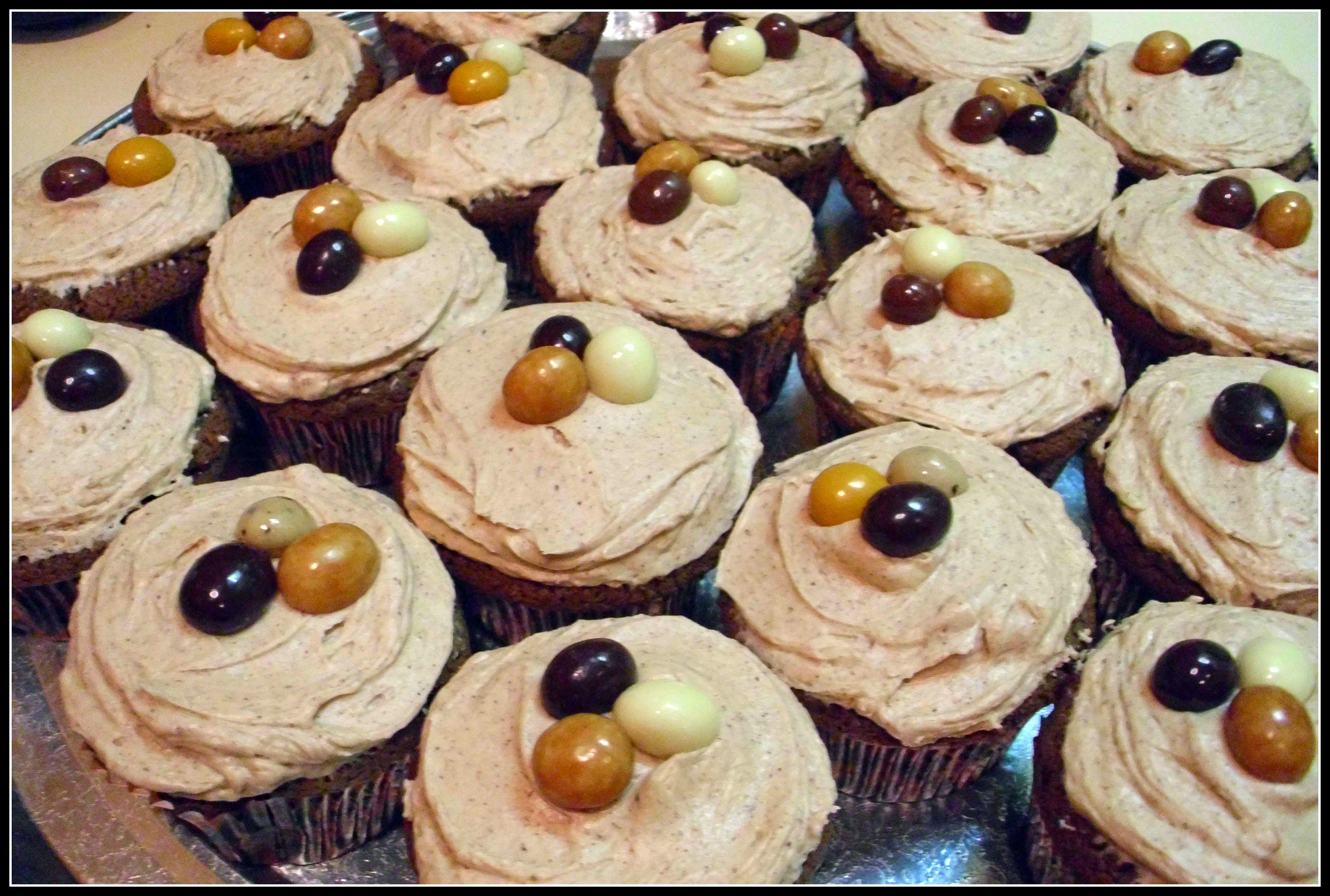 Cafe Mocha Cupcakes Recipe — Dishmaps