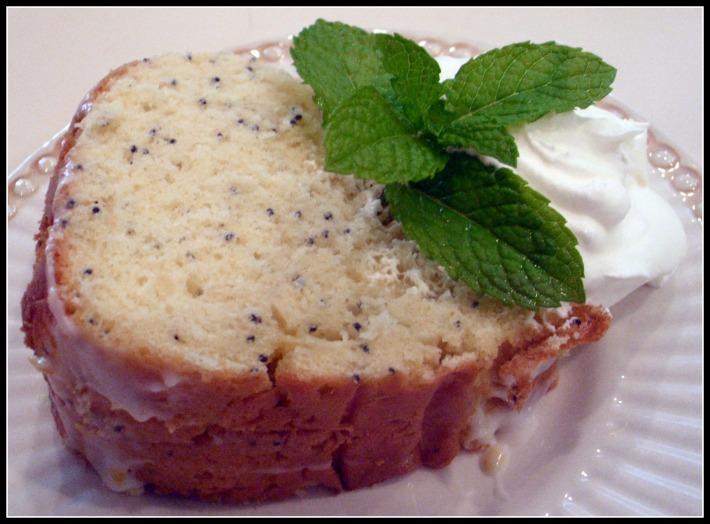 Cake Mix Doctor Lemon Poppyseed Cake