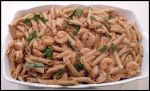 Shrimp Penne Vanilla Vodka Sauce