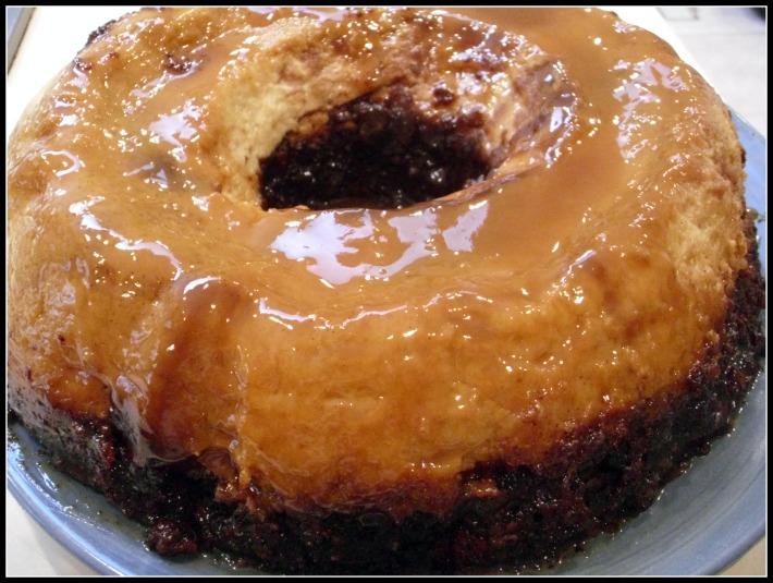 Gypsy Spiced Chocolate Flan Cake