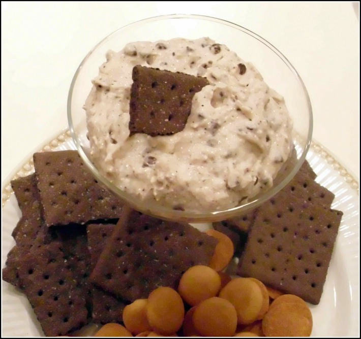 Cappuccino Cannoli Dip with Cookies