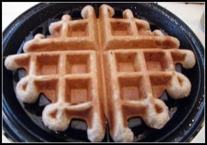 Cardamom Waffles